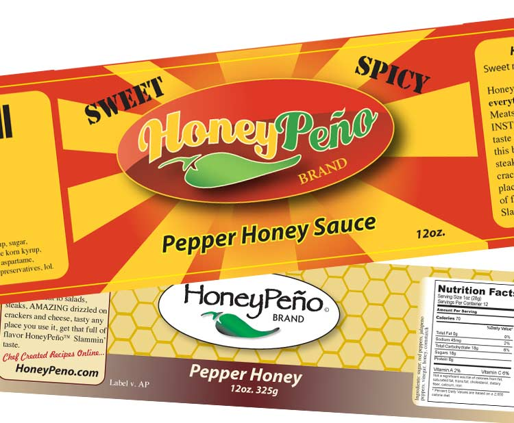 HoneyPeño Product Labels